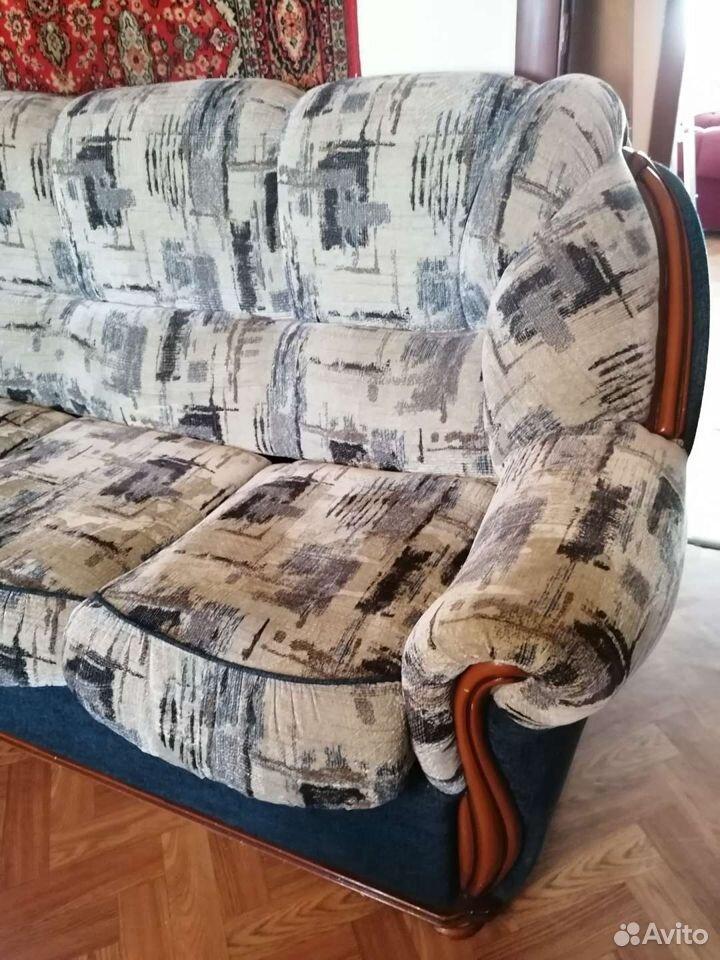 Диван и 2 кресла. отличное состояние  89023805566 купить 4