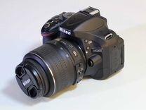 Nikon D5200 kit, вспышка, штатив, память 10Х