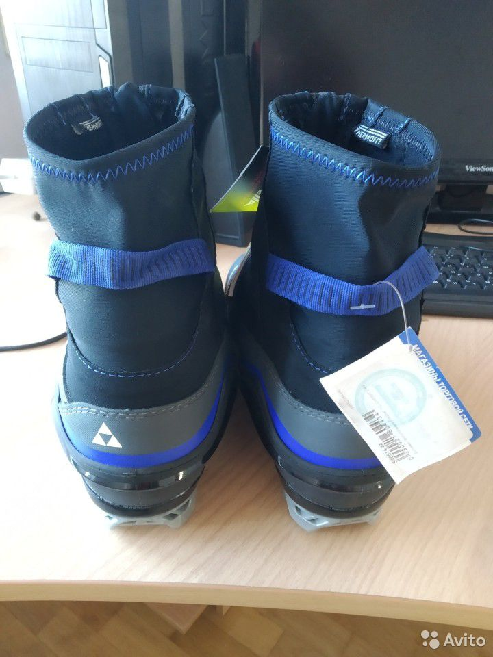 Ботинки лыжные Fischer XC Comfort 44р  89511465463 купить 3