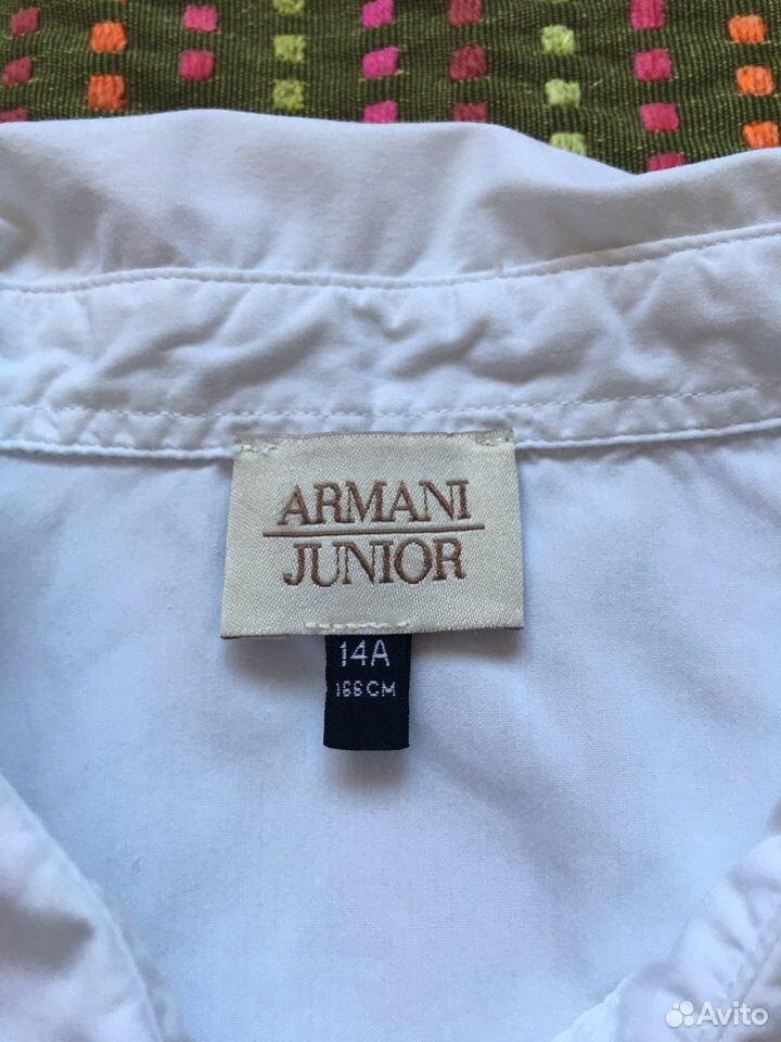 Рубашка блузка для девочки Armani оригинал 14А 166  89163063125 купить 3