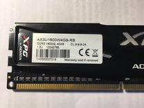 Оперативная память dimm DDR3 4096 Mb PC12800 1600