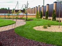 Рулонный газон от 300 кв метров. продажа постилка