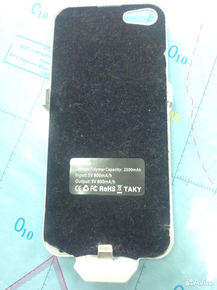 Чехол акб для айфона 5 (3400 mah) в отл состоянии  83519035950 купить 1