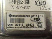 Блок управления двигателем Солярис 1,6 МКПП — Запчасти и аксессуары в Челябинске