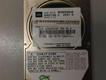 """HDD 2.5"""" IDE 80Gb Toshiba MK-8025GAS"""