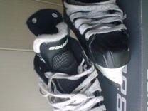Коньки хоккейные Bauer детские