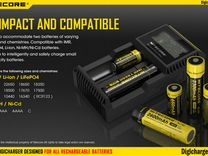 Зарядное устройство для акб 18650 26650, универс-е