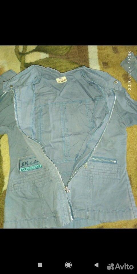 Джинсовые куртки и ветровка для девочки 7-8 лет  89109631283 купить 5