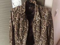 Кожаная куртка под питона — Одежда, обувь, аксессуары в Краснодаре
