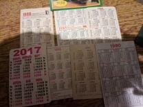 Календарики,открытки