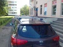 Багажник ED7 на киа Сид+монтаж — Запчасти и аксессуары в Краснодаре
