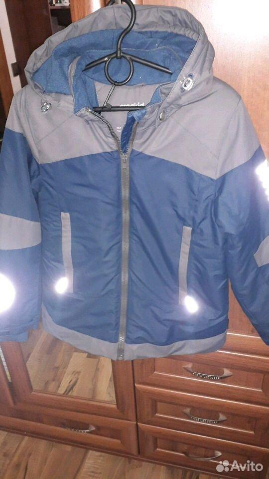 Зимняя куртка, мембрана р.128-134  89213621111 купить 3
