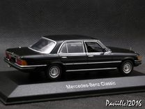 Mercedes 450 350 W116 R107 1-43 Minichamps