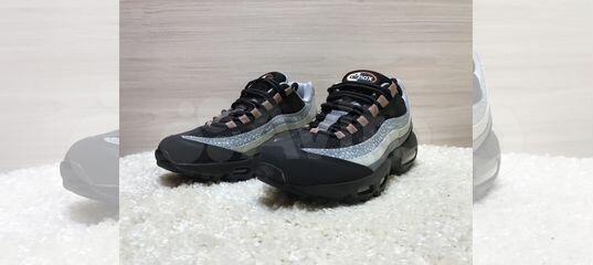 b92a017a Кроссовки Nike Air Max 95 Black Gray купить в Челябинской области на Avito  — Объявления на сайте Авито